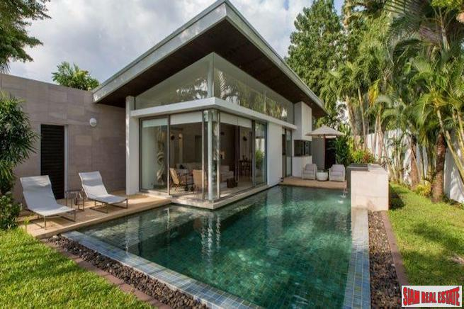 Luna Villas | Three Bedroom Modern Design Pool Villa for Rent in Layan