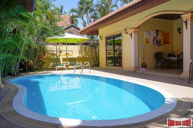 Coral Island Villa at Coconut Paradise Villas | Two Bedroom Private Pool Villa  for Sale in Nai Harn