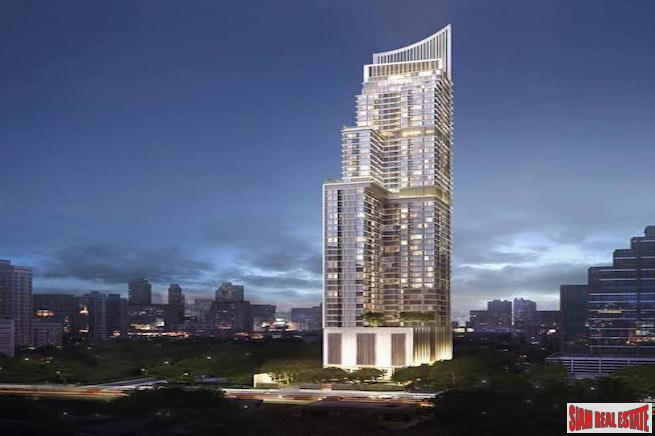 The ESSE Asoke | City Views from this 44th Floor Luxury Two Bed Condo - Last Chance, Special Price