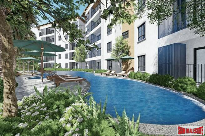 New Rawai Development with 7 Pools and Green Areas - Two Bedroom