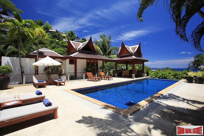 Ayara Surin | Sea View Thai-Style Four Bedroom Villa with Pool for Rent in Surin