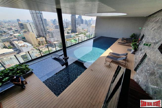 Noble Revo Silom | New Large One Bed 55 sqm Corner Unit on the 12A Floor - Investment Opportunity - 25% Under Market Price