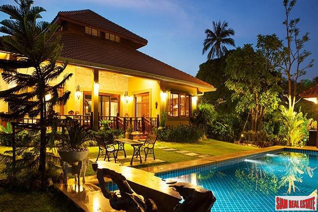White Lotus II Estate | Luxurious Four Bedroom Pool Villa and Elegantly Decorated for Sale in Hua Hin