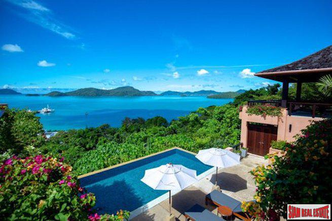 Sri Panwa | The Ultimate Three Bedroom Vacation Villa with Commanding Sea Views for Sale in Cape Panwa