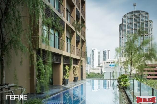 Noble Refine | One Bedroom, Excellent Location, Pool Views in Phrom Phong