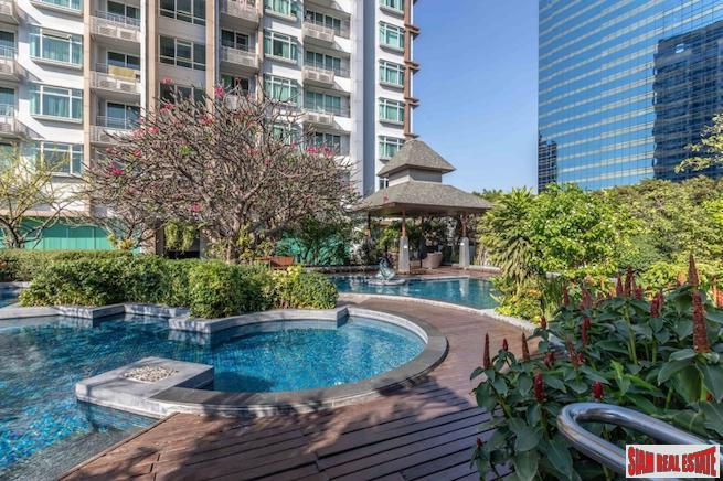 Circle Petchaburi | Unique Two Bedroom / Two Unit Combo Condo with Excellent City Views