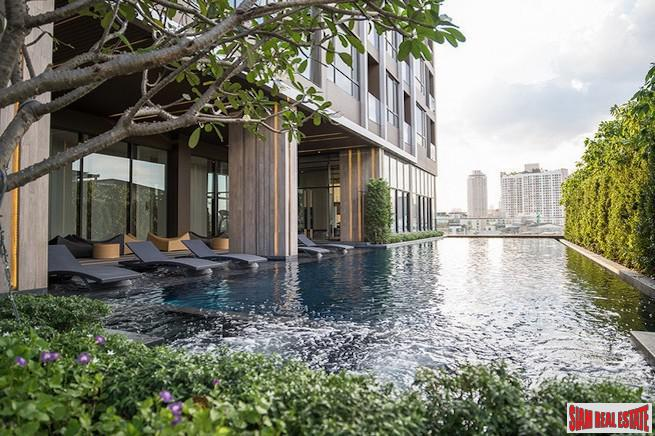 The Line Sukhumvit 71 | Modern Luxury One Bedroom Condo with High High Ceilings & Windows in Phra Khanong
