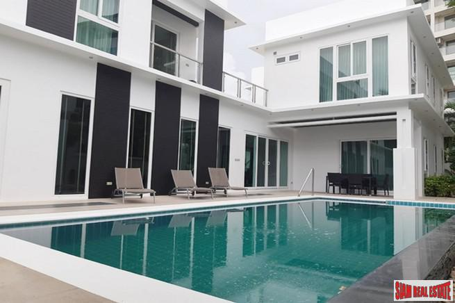 Palm Oasis House | Spacious Private Five Bedroom Pool Villa for Sale in Pattaya City