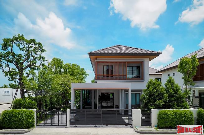 New Development Modern Smart Homes in Construction in a Secure Estate with Excellent Facilities, close to Mega Bangna, Bang Phli