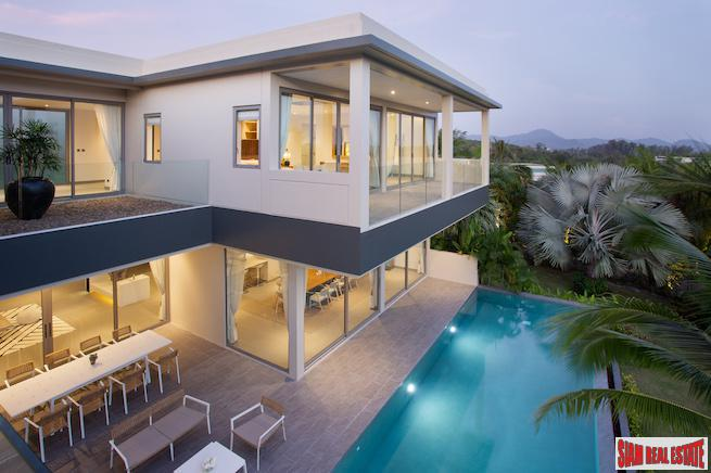 The Pavilions Phuket Residence | Tropical Four Bedroom Retreat Villa with Private Pool Overlook Layan Beach
