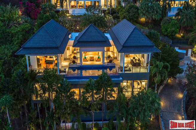 Baan Sawan Phuket | Luxurious Rawai Four Bedroom Private Pool Villa with Amazing Andaman Sea Views