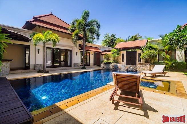 Sai Taan | Luxurious Three Bedroom Private Pool Villa a Short Walk to Bang Tao Beach