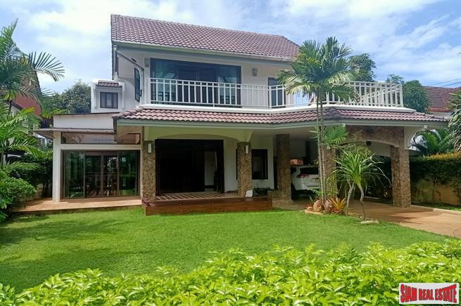 Chuan Chuen Village | Lakeview Four Bedroom House for Rent in a Peaceful Area of Koh Kaew
