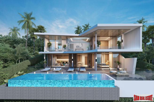4 Bedroom Pool Villa with Sea View - Bo Phut, Koh Samui