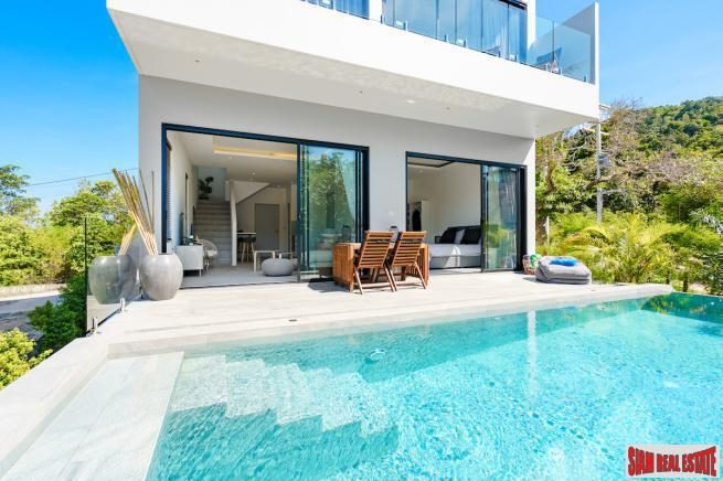 3 Bedroom Pool Villa with Sea View in Plai Laem, Koh Samui