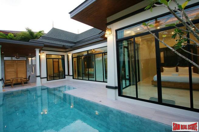 Land & House Park | New Three Bedroom Pool Villa for Sale in a Secure Chalong Estate