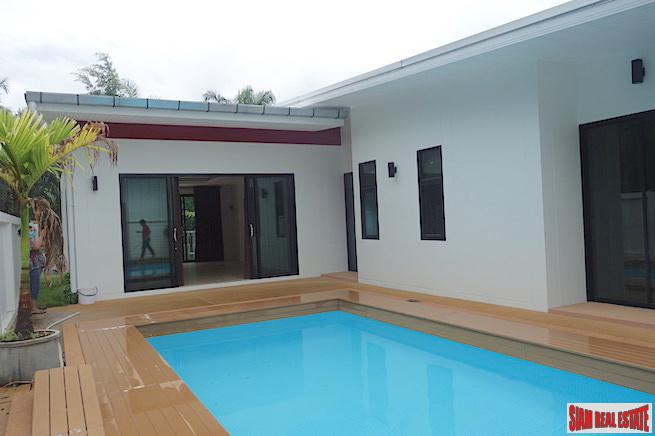 Large Two Bedroom, One Storey Home for Sale with Private Swimming Pool in Ao Nang, Krabi