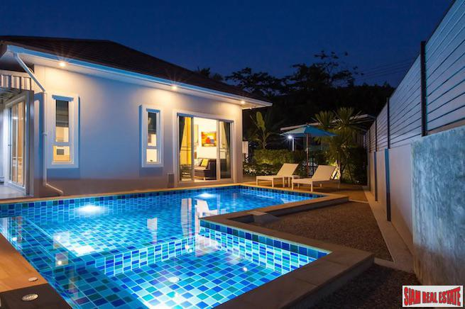 Bright & Cheery Two Bedroom Pool Villa for Sale with Lots of Privacy in Ao Nang