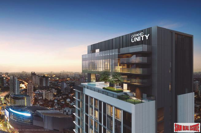 New Luxury High-Rise Newly Completed Next to BTS at Ratchayothin, Chatuchak - 2 Bed Corner Units