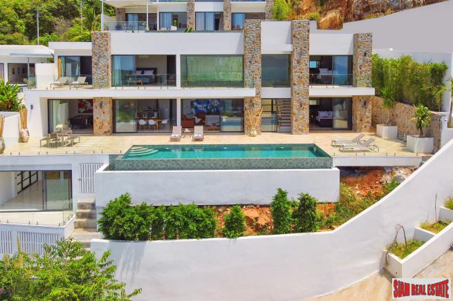New 4 Bedroom Villa with Sea View in Bo Phut Hills, Koh Samui