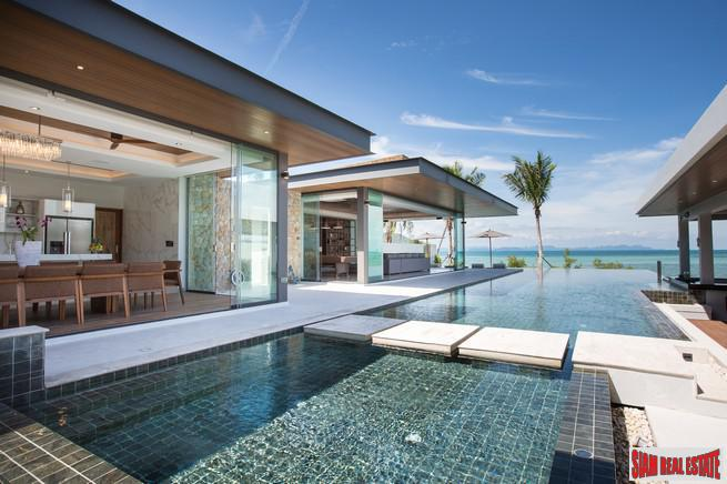 New 6 Bedroom Beachfront Villa – Laem Sor, Koh Samui