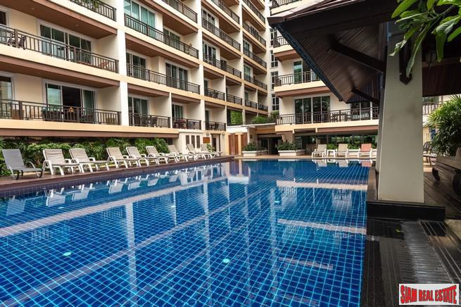 Jomtien Beach Penthouses | Live by the Ocean - Superior One Bedroom Condo for Sale