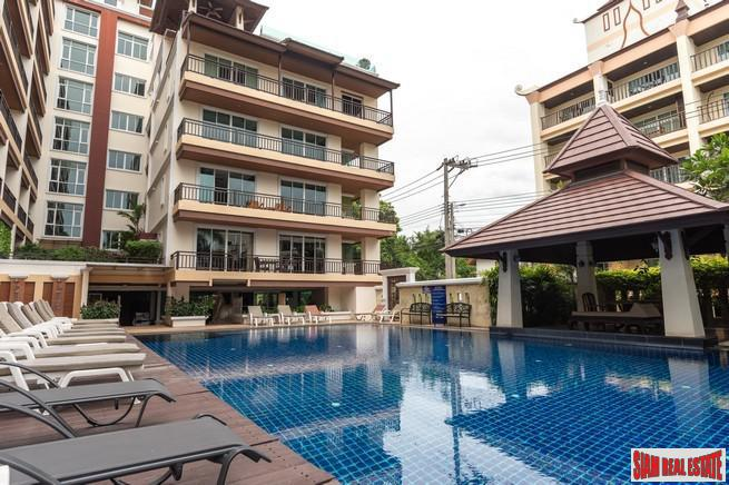 Jomtien Beach Penthouses | Extra Spacious Two Bedroom Condos for Sale Only 80 meters to Pattaya's Best Beach