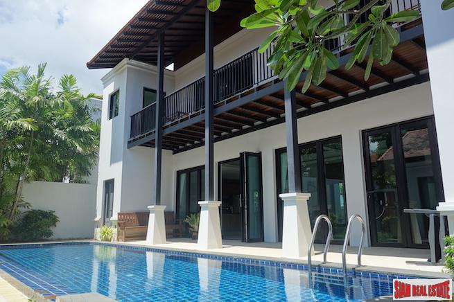 Luxury Two Storey Three Bedroom Pool Villa for Sale in a Peaceful Area of Cherng Talay
