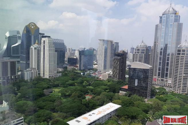 Sindhorn Residence | Amazing City and Lumphini Park Views from this Two Bedroom Condo for Rent