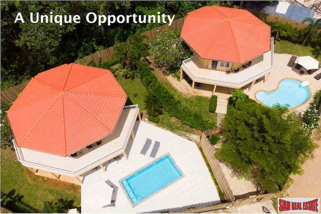 Unique Two -  Two Bedroom Pools Villas on a Large Ao Nang Property - Excellent Business Investment