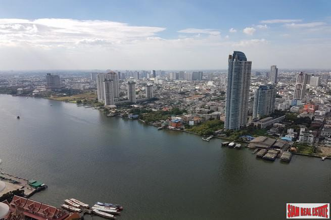 Menam Residences Condominium | One Bedroom with Super River Views for Sale  in Saphan Taksin