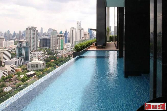 Nara 9 | Modern Two Bedroom Condo for Sale only 700 m. to BTS Chong Nonsi