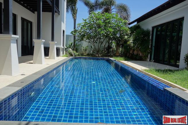 Private &  Luxurious Three Bedroom Pool Villa in a Peaceful Area of Cherng Talay