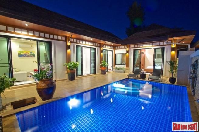 Rawai VIP Villas | Two Bedroom + Study Room Private Pool Villa in an Resort-Style Estate