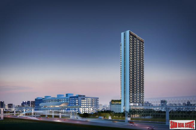 Pre-Launch of New High Rise Condo by Leading Thai Developers at Ratchada-Lat Phrao - 2 Bed Units