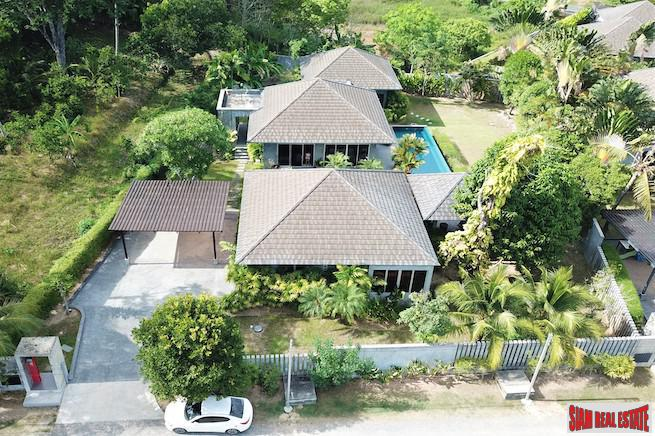 Pura Vida | Tropical Contemporary Three Bedroom Pool Villa Near Nai Thon and Nai Yang Beaches