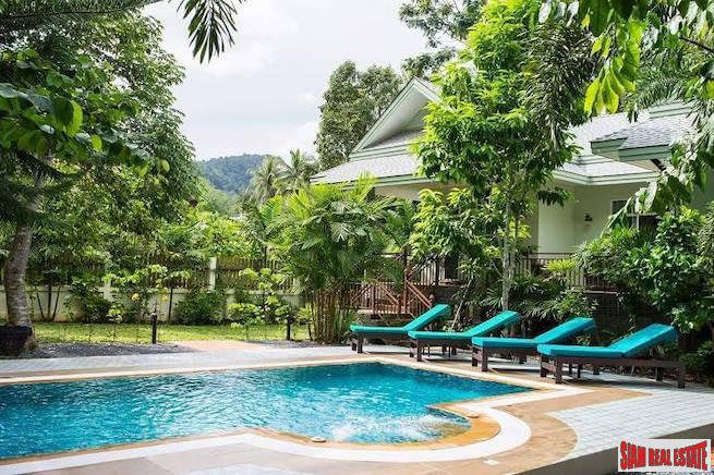 Spacious Two Bedroom Pet Friendly House with Private Swimming Pool for Rent in a Quiet Area of Ao Nang