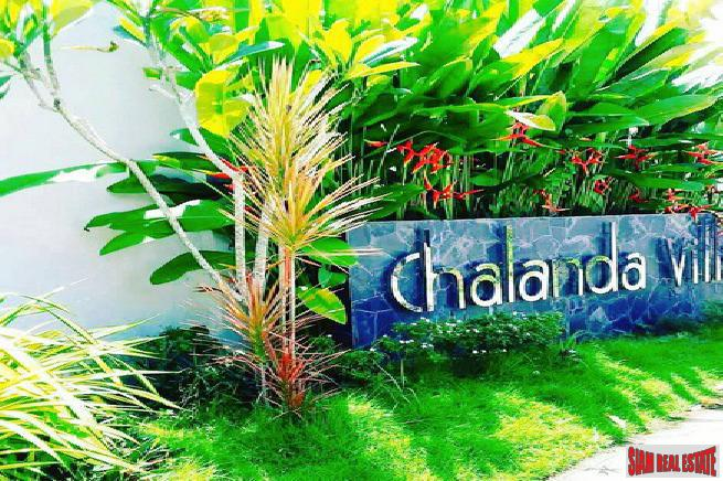 Three Bedroom Single Storey Private Pool Villa for Rent Located in a Quiet Area of Cherng Talay