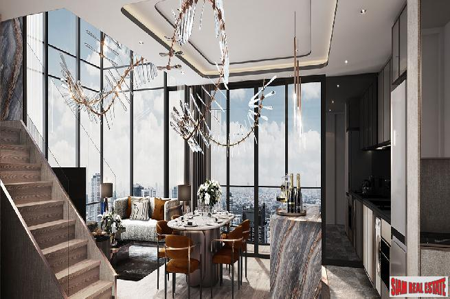 New Luxury High-Rise Condo with 8