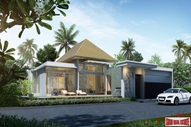 Exquisite Three Bedroom Balinese Style Pool Villa in a Quiet Green Area of Thalang