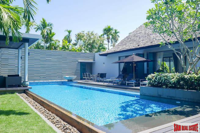 Anchan II | Contemporary Four Bedroom Private Pool Villa for Rent Minutes from Layan Beach