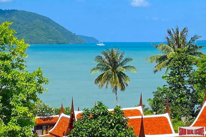 The Eva | Exquisite Five Bedroom Rawai Private Pool Villa for Rent with Outstanding Chalong Bay Views