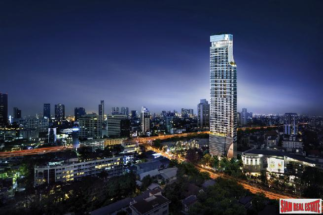 New Luxury High-Rise Condo in Construction at Ekkamai Road, Sukhumvit 63 - 1 Bed Loft Units