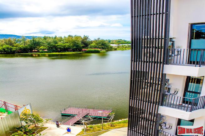 Cassia Residence | Wonderful Lake Views from this One Bedroom Loft-Style Condo in Laguna