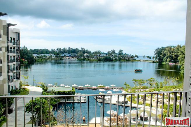 Cassia Residence | Fantastic  Lake & Pool Views from this Two Bedroom Condo for Sale in Laguna