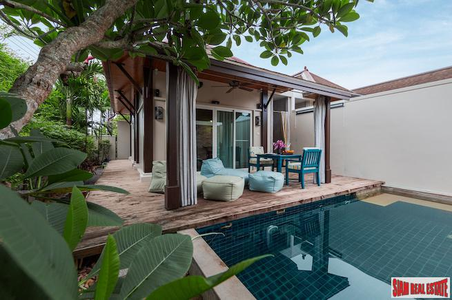 Two Villas Tara | Spacious One Bedroom Private Pool Villa that Sleeps Four for Sale in Layan