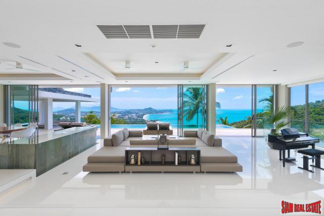 Magnificent Villa with Panoramic Views & Chaweng Noi, Koh Samui