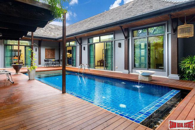 Saiyuan Estate | Two Villas for the Price of One - Beautiful Three Bedroom Pool Villa + Annex for Sale in Rawai