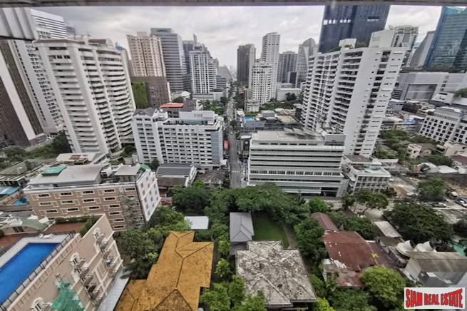 The Trendy Condominium | Great City View from this Two Bedroom Duplex Condo for Rent on Sukhumvit 13
