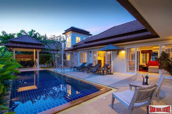 Large Private Four Bedroom Pool Villa for Rent Close to the Beach in Rawai